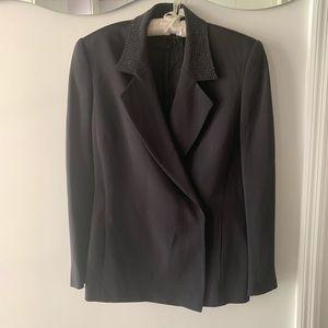Timeless Escada black blazer